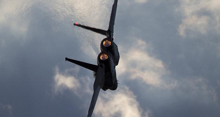 F-15 da Força Aérea israelense, foto de arquivo