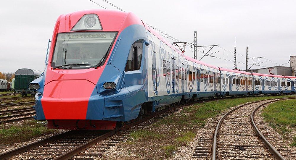 Ivolga, trem inovador suburbano da Transhmashholding, projetado e construído com tecnologias russas
