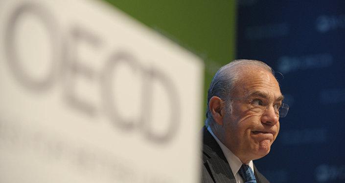 O mexicano José Ángel Gurria preside a organização criada em 1961