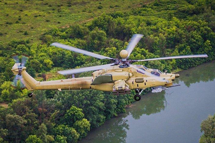 Helicóptero de ataque russo Mi-28UB