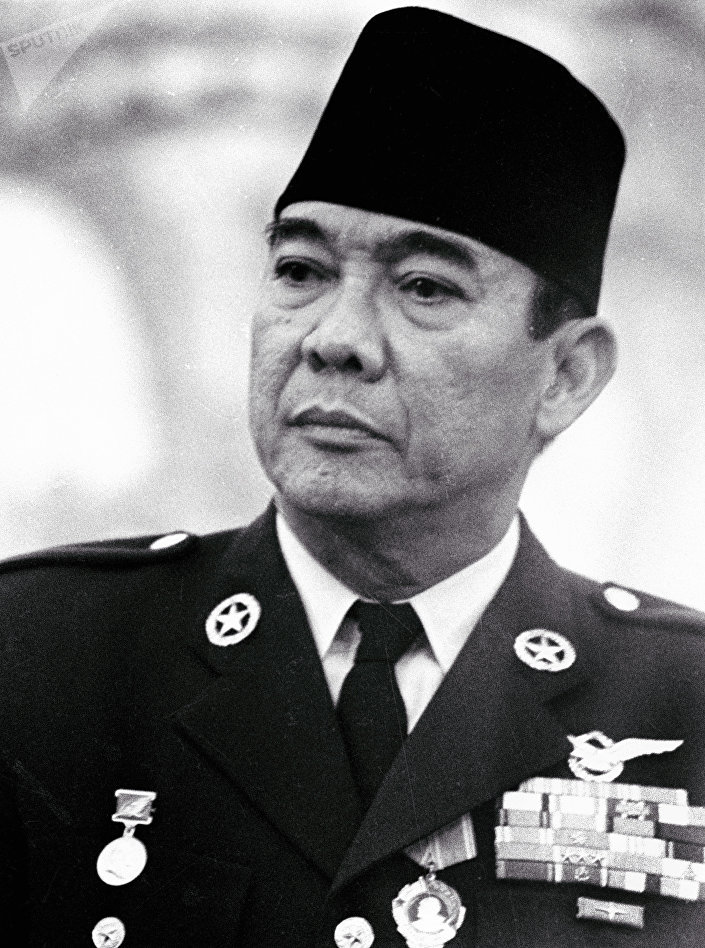 Presidente da Indonésia Sukarno
