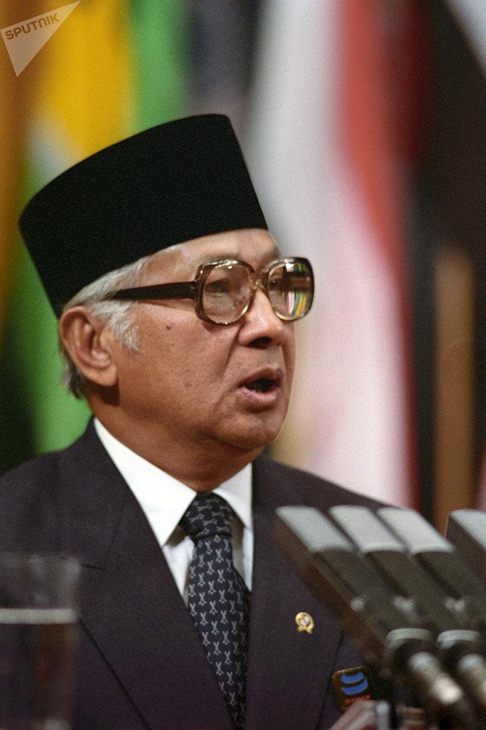 Presidente da República da Indonésia, Hadji Mohamed Suharto