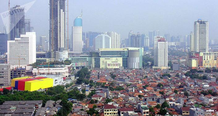Jacarta, capital da Indonésia