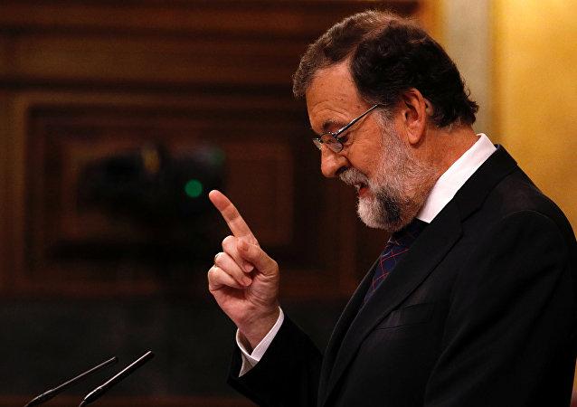 Mariano Rajoy, presidente do Governo espanhol, foto de arquivo