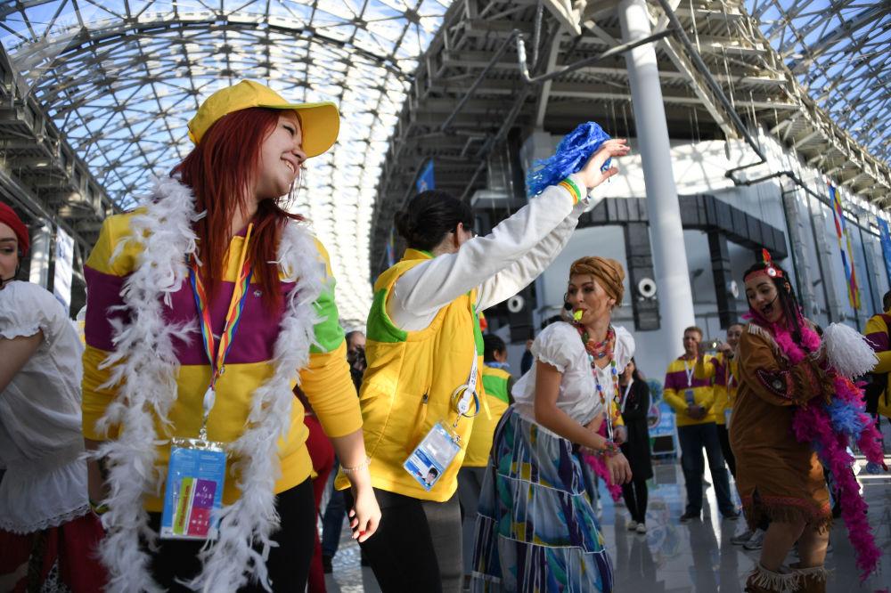 XIX Festival Internacional da Juventude realizado em Sochi, Rússia