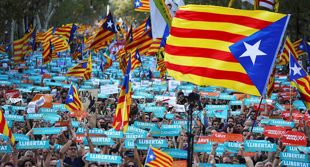 Marcha pela independência da Catalunha