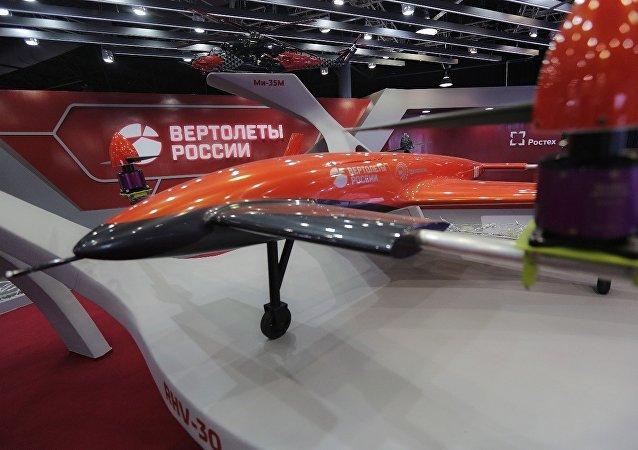 Convertiplano não tripulado VRT30, projetado pela empresa russa Vertolyoty Rossii