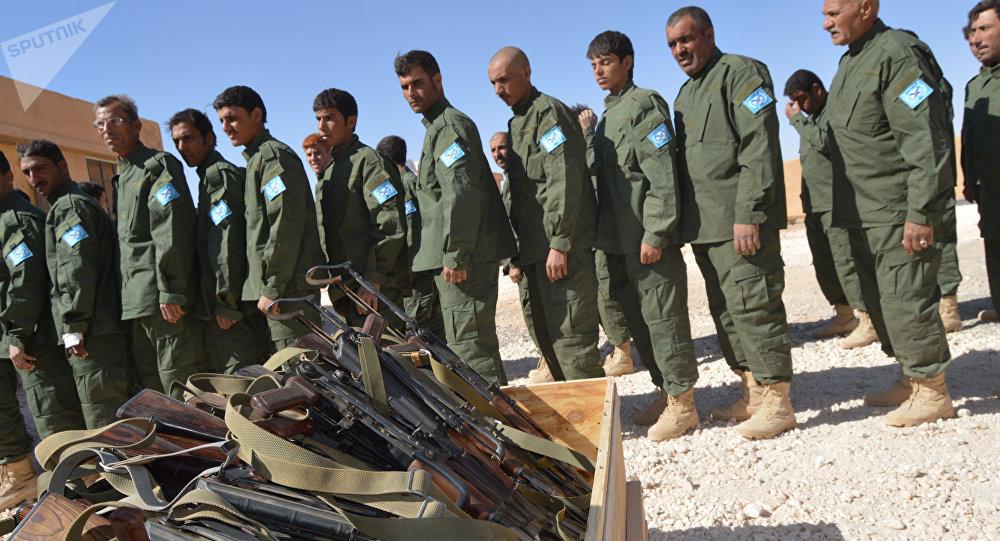 Treinamentos das FDS em Raqqa