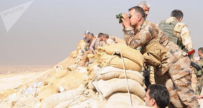 Os curdos peshmerga