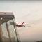 Manobra de avião da Air Berlin