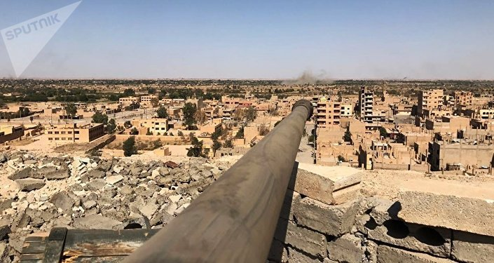 Vista de Deir-ez Zor, na Síria (arquivo)