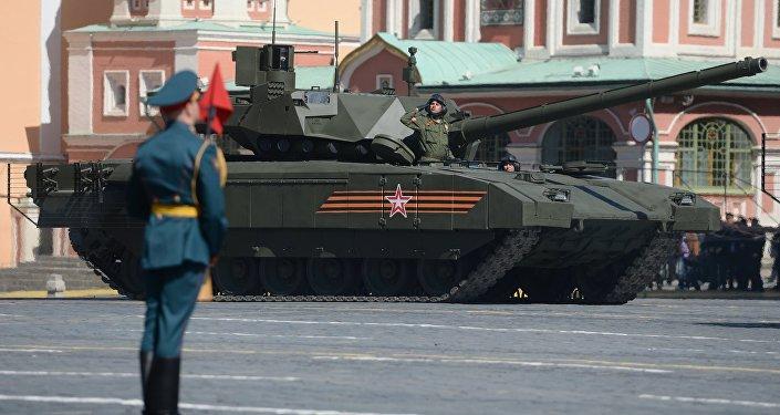 O tanque T-14 Armata