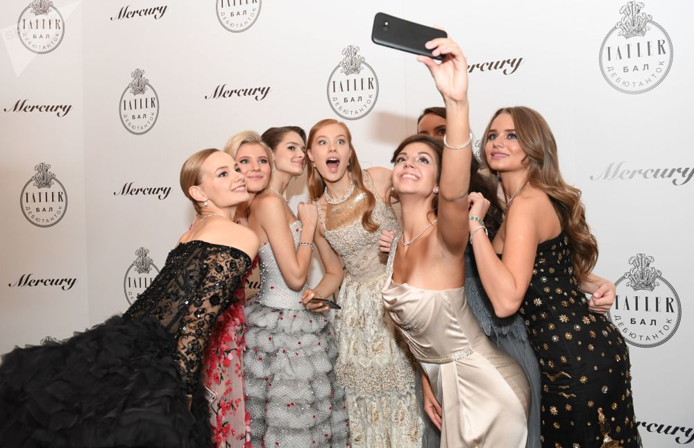 Baile das debutantes da revista de moda russa Tatler, em Moscou