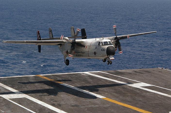 Avião C-2A Greyhound (foto de arquivo)