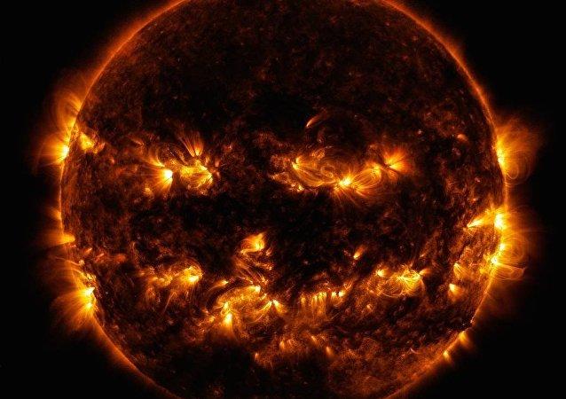 Extravagante traje solar publicado pela NASA