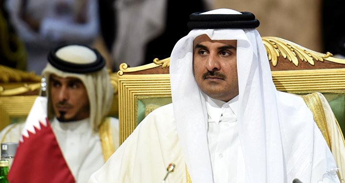 Emir do Qatar, Tamim bin Hamad al-Thani (arquivo)