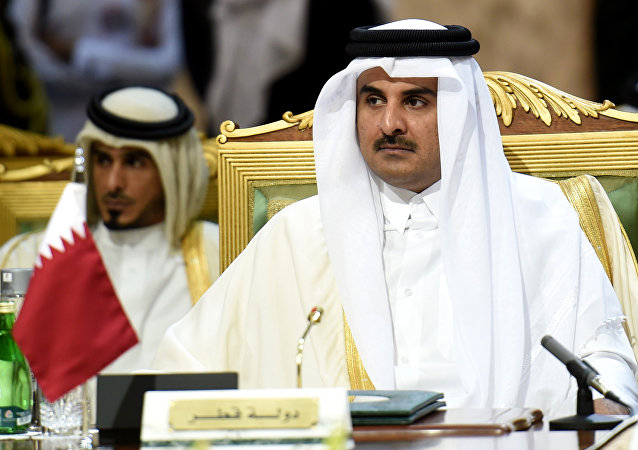 Emir do Qatar Tamim bin Hamad al-Thani