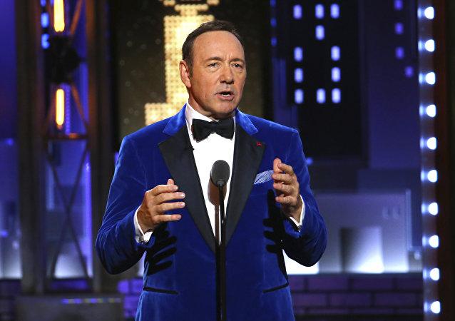Kevin Spacey em junho de 2017