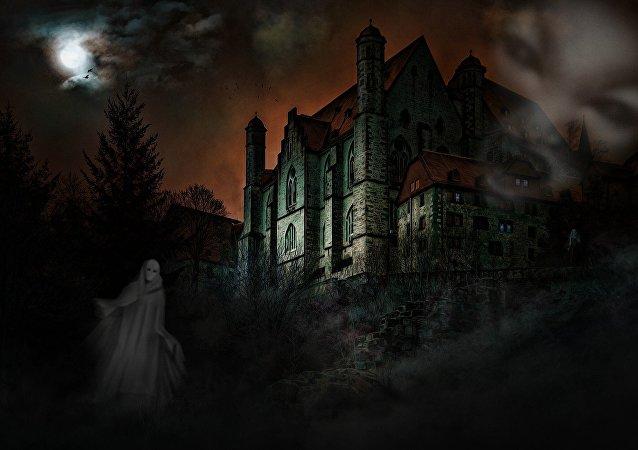 Castelo com fantasmas (apresentação artística)