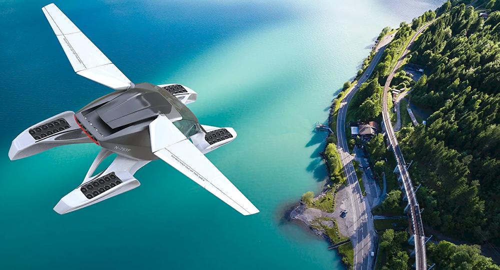 Formula, o carro voador da empresa russa Hoversurf