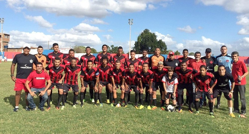 Equipe do Íbis Sport Club, o pior time do mundo