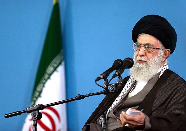 Líder supremo do Irã, aiatolá Ali Khamenei, em foto de arquivo