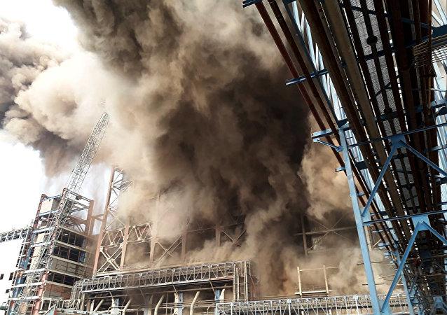 Explosão em usina energética do estado indiano de Uttar Pradesh