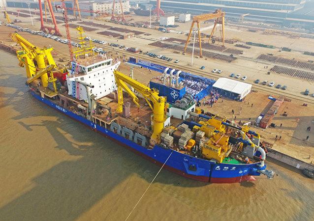 Tian Kun Hao, navio de dragagem chinês