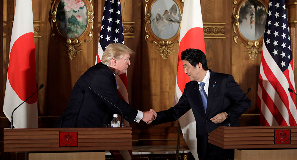 Tóquio e Washington acordam exercer máxima pressão sobre Pyongyang