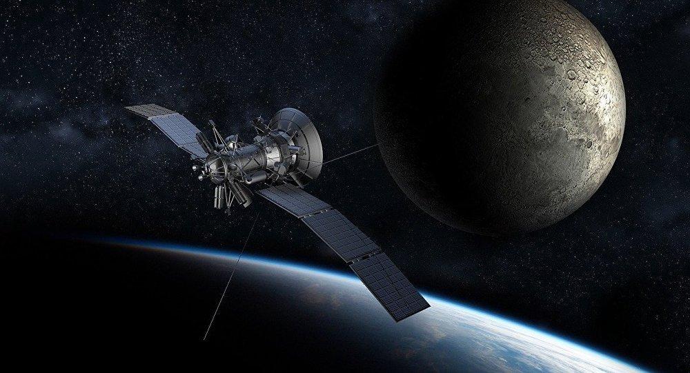 Um satélite