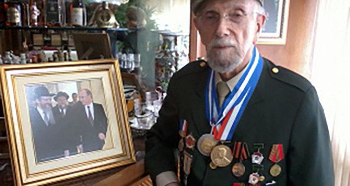 Partisan soviético Izak Kimelblat
