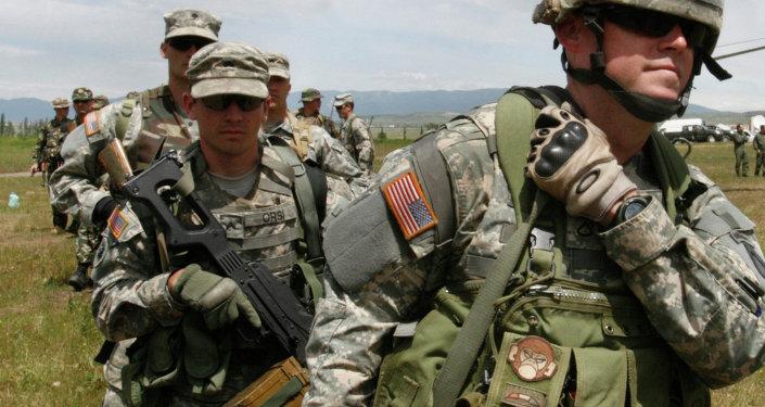 Instrutores militares dos EUA na Geórgia