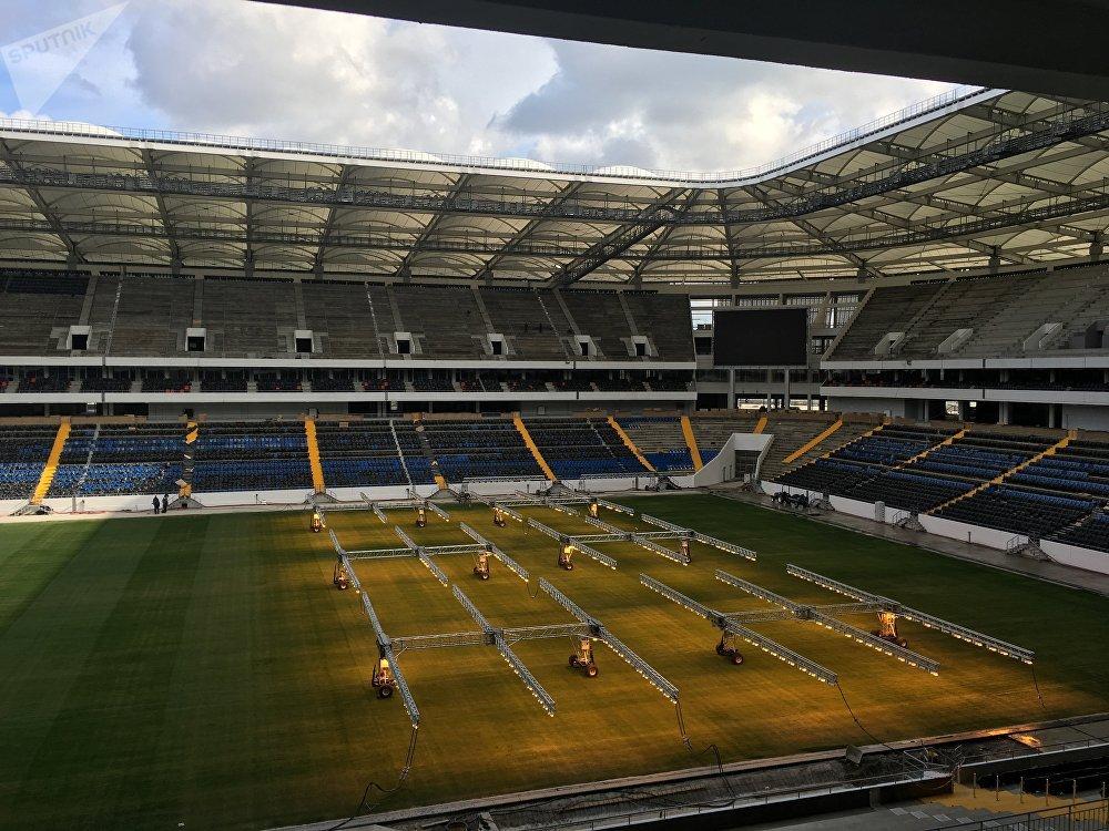 Novo estádio Rostov Arena na cidade de Rostov-no-Don