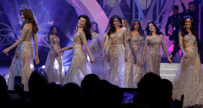 Concurso de miss (foto de arquivo)