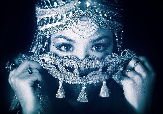 Uma jovem oriental (imagem ilustativa)
