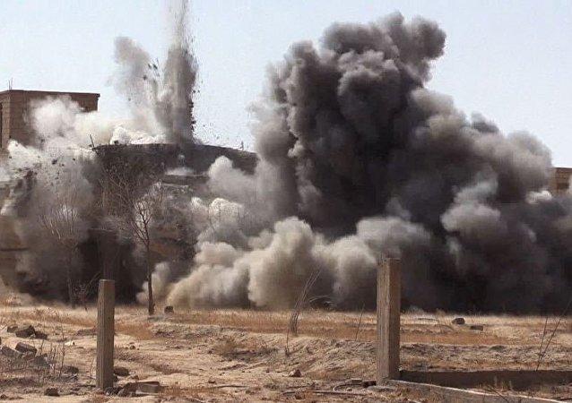 Situação em Deir ez-Zor