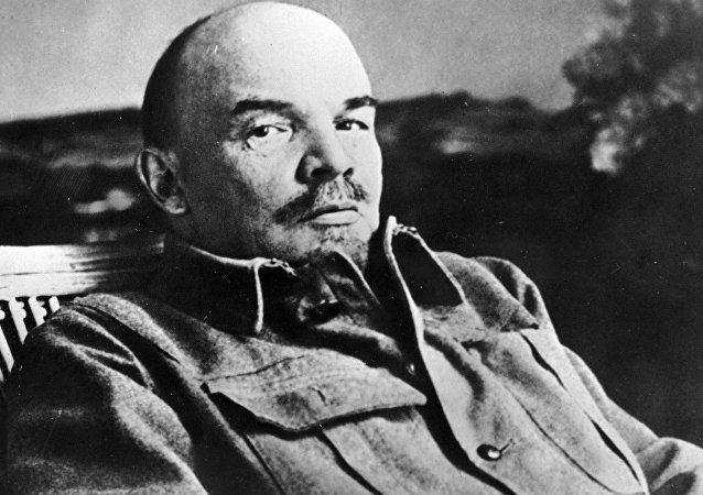 Vladimir Lenin, líder da revolução russa