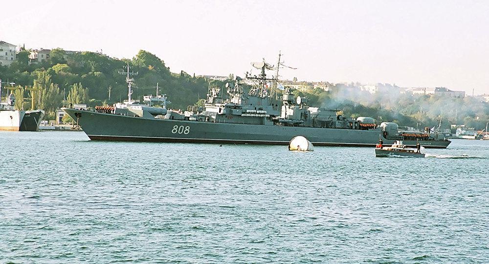 Navio patrulheiro da Frota do Mar Negro Pytlivy