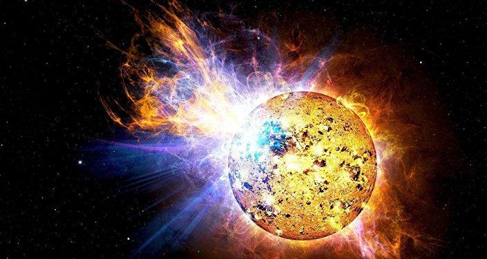 Explosão do Sol