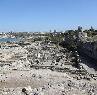 Escavações na Crimeia (foto de arquvio)