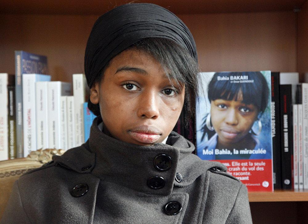Bahia Bakari, menina de Paris que sobreviveu o acidente do voo de línhas Yemenia Airways em 2009