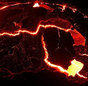Vulcão etíope Erta Ale