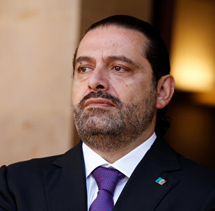 Saad Hariri no Líbano, em outubro de 2017