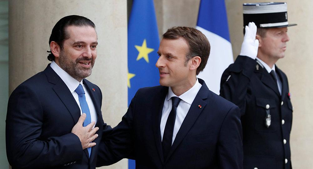 PM demissionário do Líbano chega a Paris para se reunir com Macron