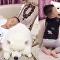 Inseparáveis: cachorro cuida de criança como se fossem irmãos