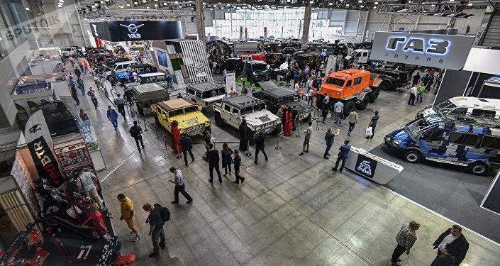 Exibição de veículos em Moscou (imagem ilustrativa)