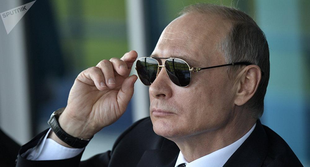 Presidente russo, Vladimir Putin.