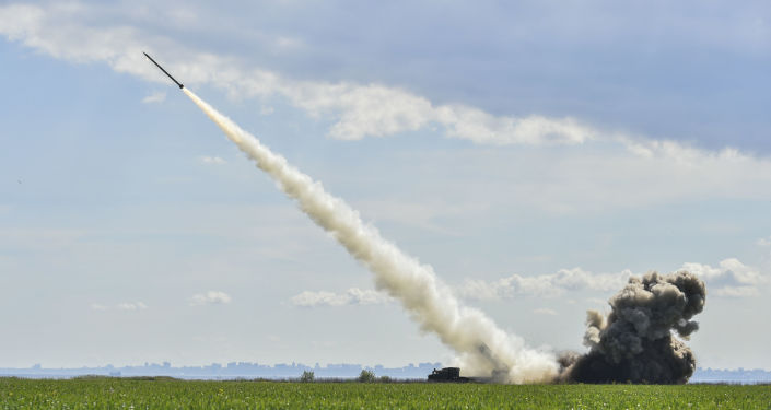 Testes do míssil ucrâniano Olkha (foto de arquivo)