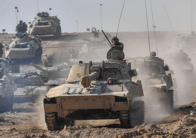 Treinamentos antiterroristas em Tajiquistão