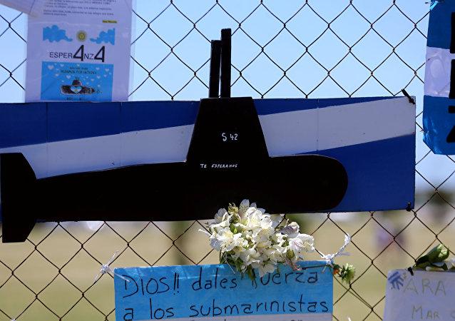 Busca do submarino argentino desaparecido san Juan
